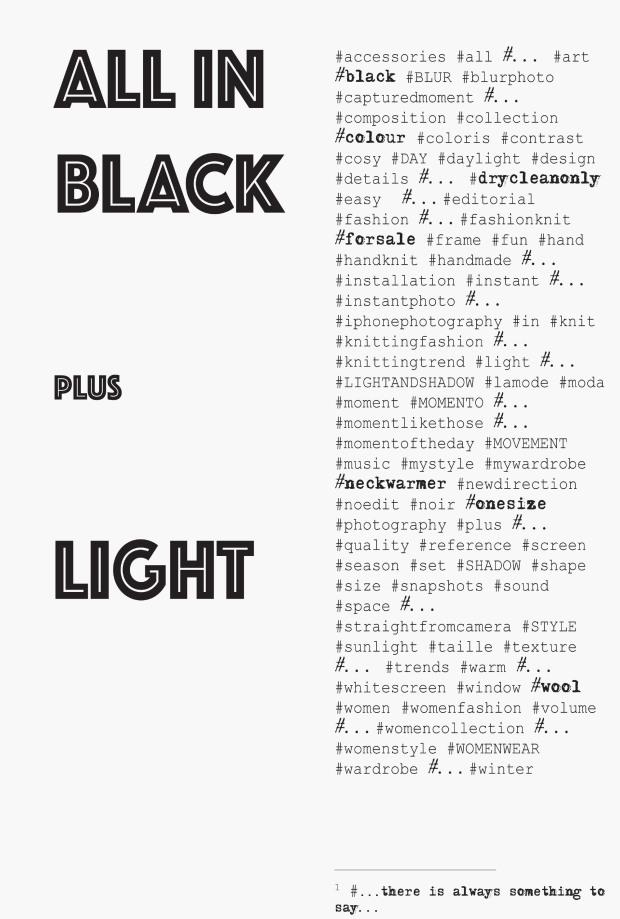 all in black pluslight
